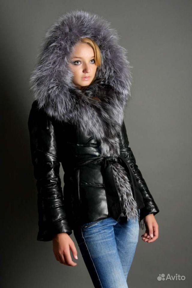 Куртки Кожаные С Чернобуркой Купить