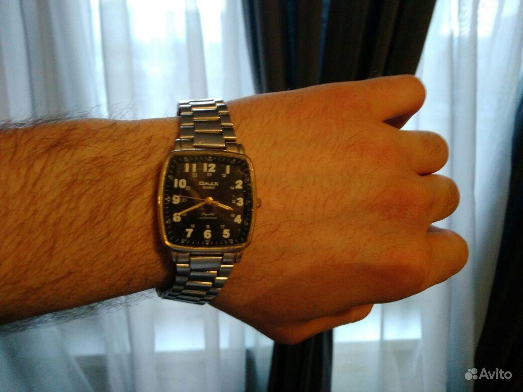 Мужские наручные часы Q Q - купить в магазине