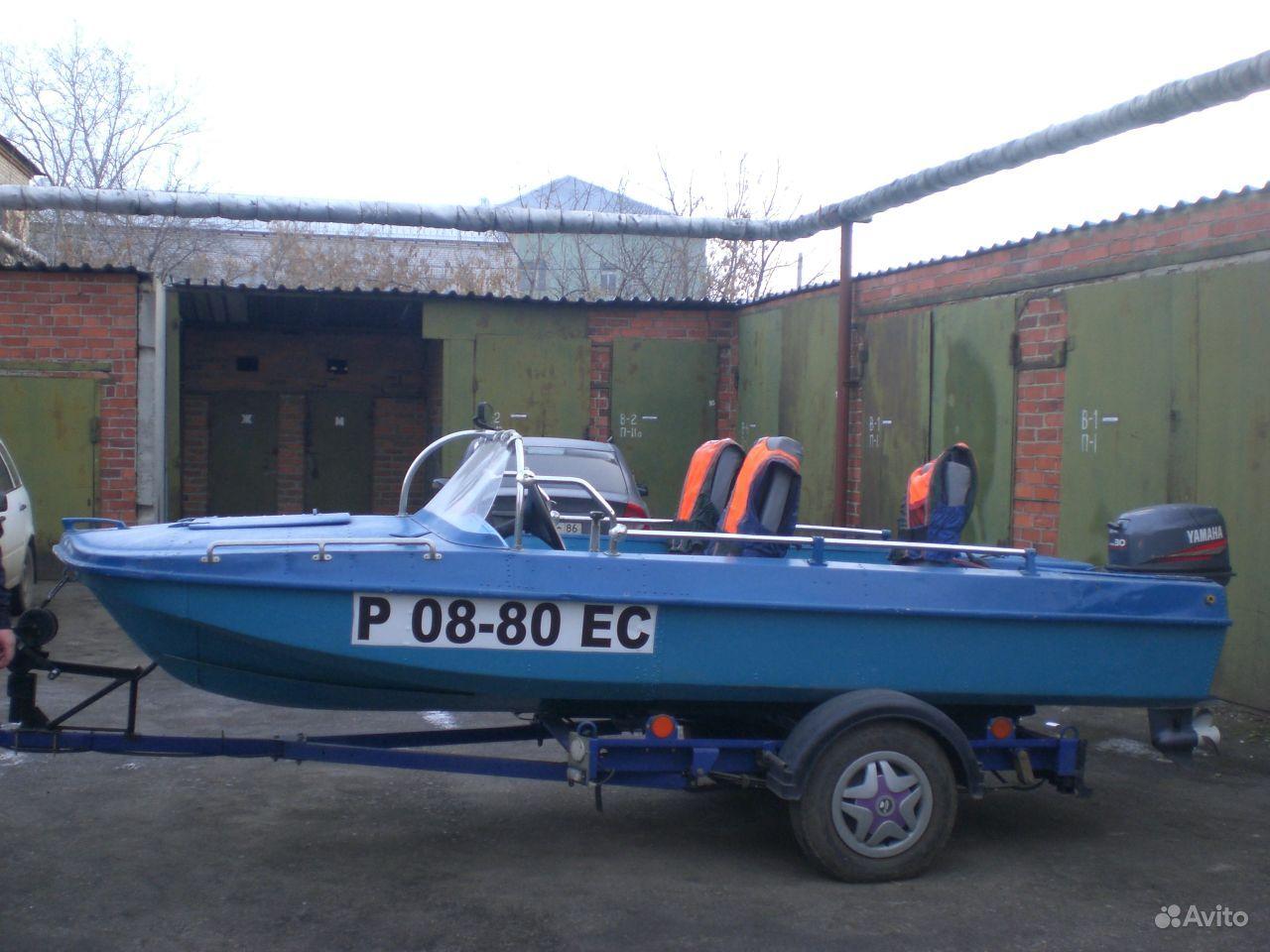 куплю моторную лодку обь в спб