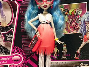 Monster High Ghoulia Dawn of the dance