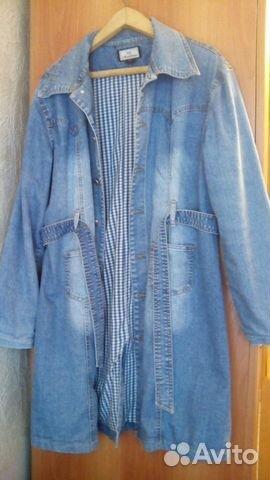 Женские джинсовые френчи