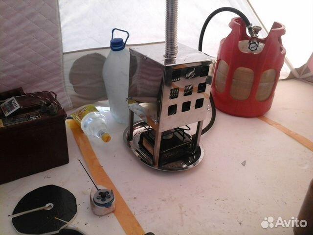 Обогрев для палатки своими руками