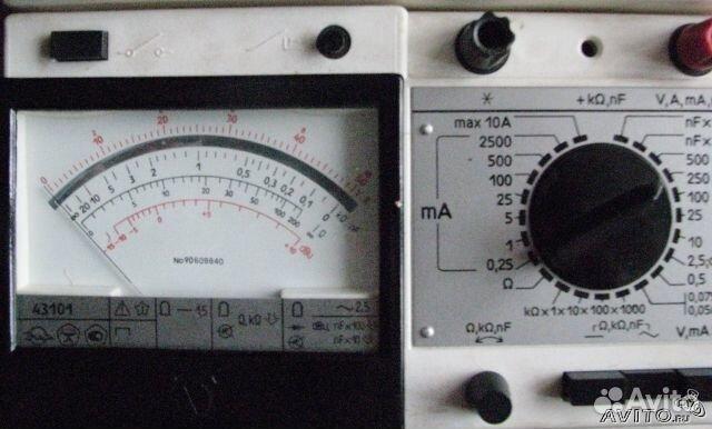 Мультиметр (тестер) Ц4342-М1