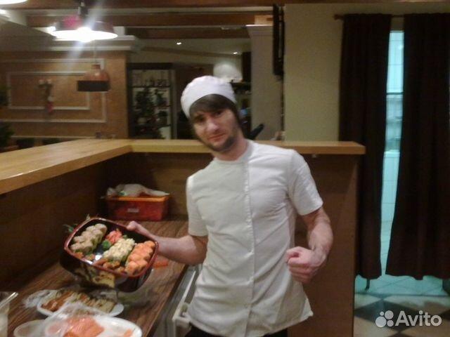 Объявление на avito - повар-сушист