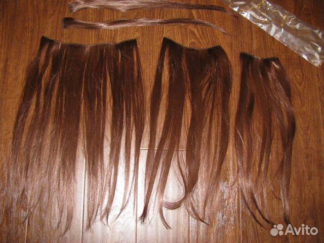 Волосы на заколках пермь