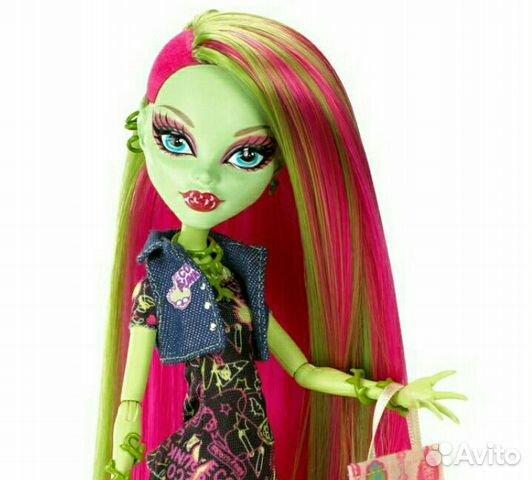 Кукла монстер хай Венера Venus базовая с питомцем купить в ...
