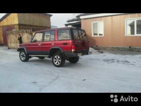 Toyota Land Cruiser Prado, 1991 89025687740 купить 1