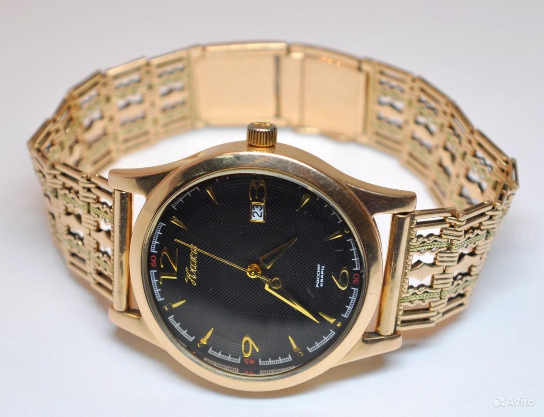 Цены на золотые часы ника
