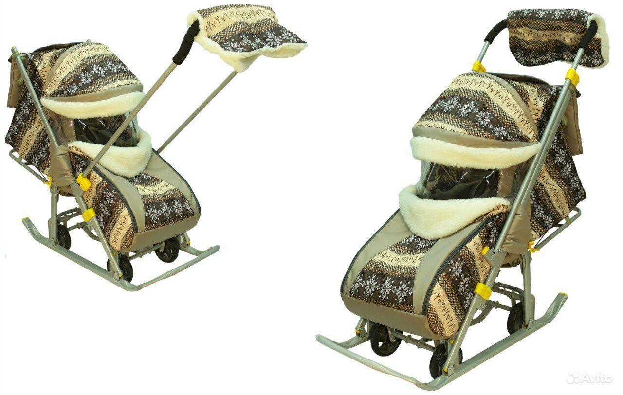 детские лучшие санки коляски