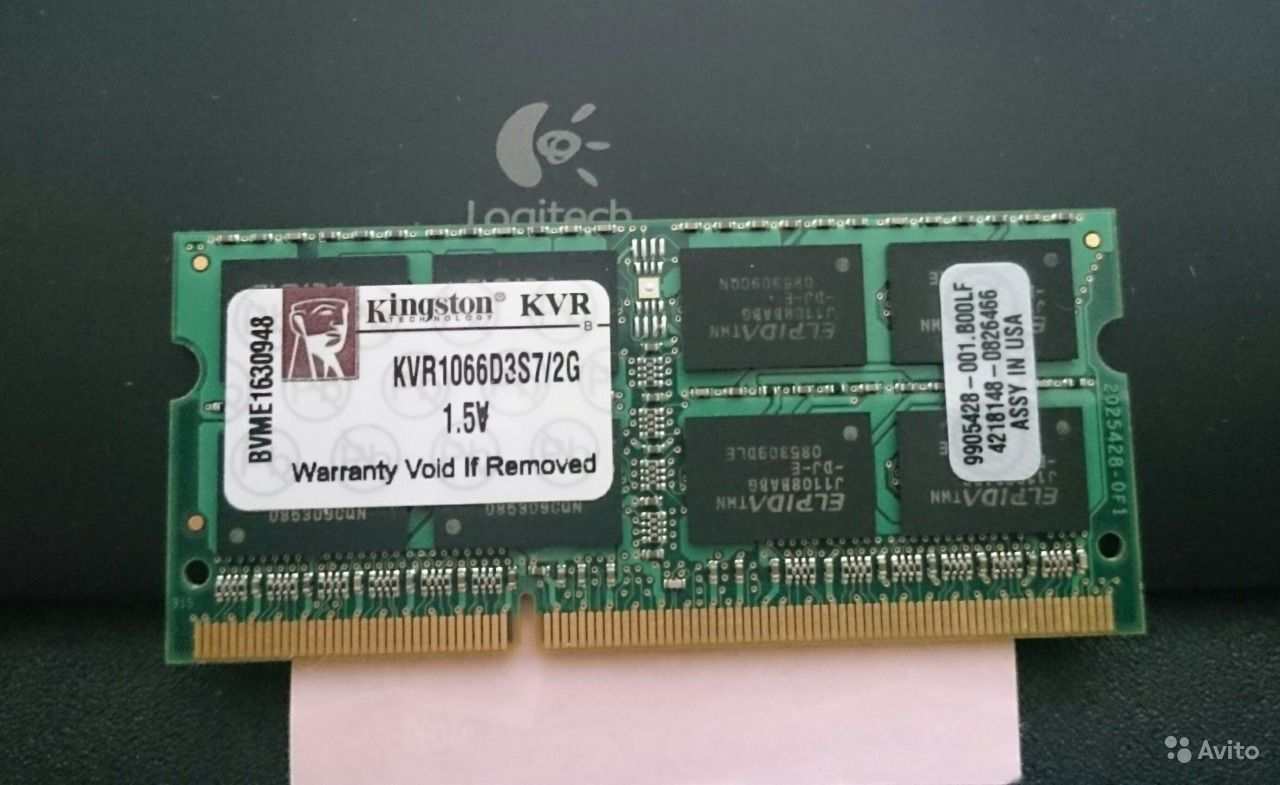 Kingston KVR1066D3S7/2G (DDR3)