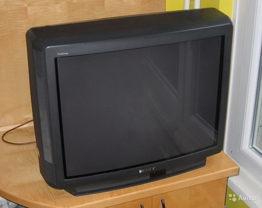 sony-trinitron-picture-goes-black