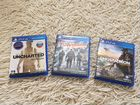 Ghost recon + division + uncharted ps4 диски