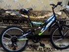 Велосипед Стелс, 18 скоростей, колеса 20, б/у 1сез