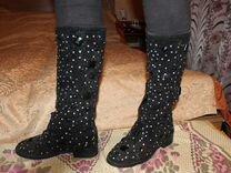 Сапоги Весна-Осень — Одежда, обувь, аксессуары в Санкт-Петербурге