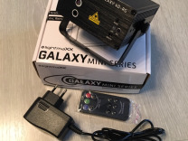 Светомузыка Лазер lightmaXX mini galaxy 4D