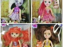 Куклы Enchantimals с питомцами