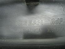 Накладка на порог (наружная) Nissan X-Trail T32