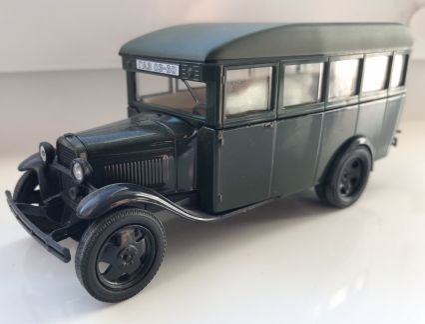 Модель автобуса газ 03-30 с декалью объявление продам