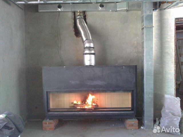 Монтаж камина и дымохода в новосибирске труба для дымохода котел сибирь