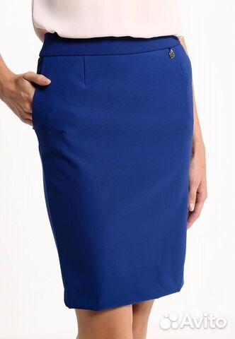 Синяя юбка love republic