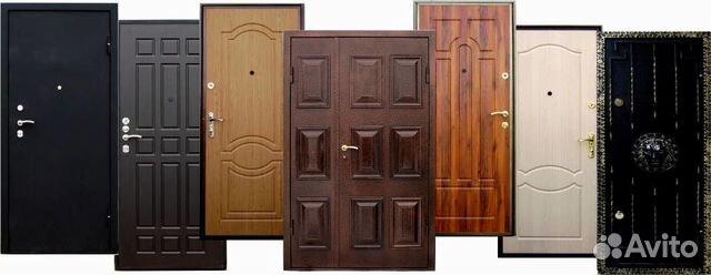 железные двери установка адрес