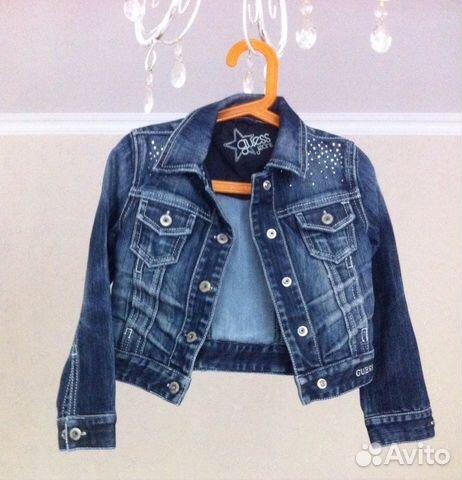 3f1f255a65edba Куртка джинсовая guess jeans | Festima.Ru - Мониторинг объявлений
