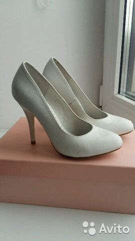 898ecc867 Женские туфли на каблуке белые | Festima.Ru - Мониторинг объявлений