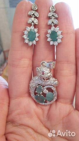 706474756236 Украшения из серебра с натуральными камнями купить в Москве на Avito ...