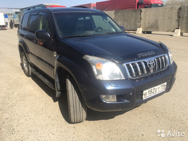 навигация Toyota Land Cruiser Prado #10