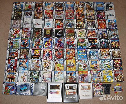 GBA Game Boy Advance игры GameBoy