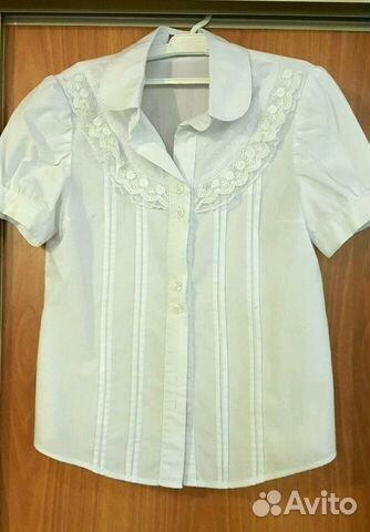 2a3cd95e296 Белая блузка для школы купить в Краснодарском крае на Avito ...