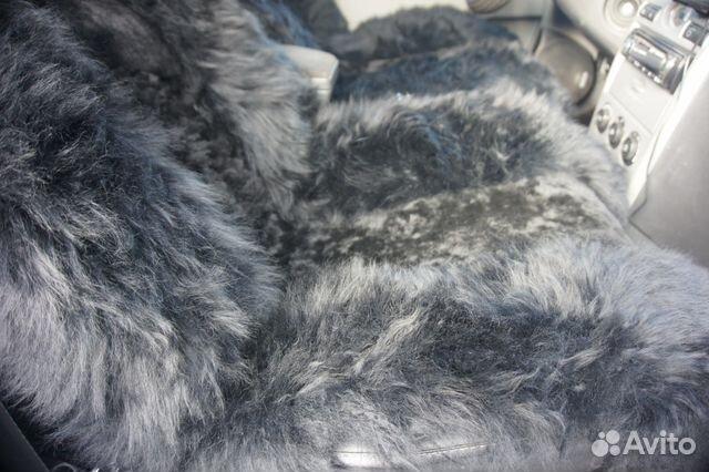 Меховые накидки комбинированные (Черные) 89091779933 купить 3