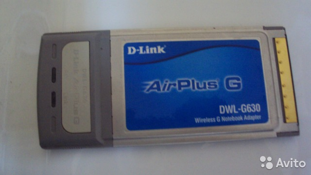 DLINK AIRPLUS DWL G630 TREIBER WINDOWS 7