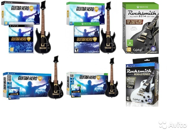 8753af22a3d8 Guitar Hero Live PS3 Xbox360 PS4 xbox ONE купить в Краснодарском ...