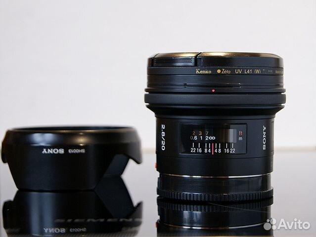 Sony 20mm F2 8 (SEL-20F28) | Festima Ru - Мониторинг объявлений