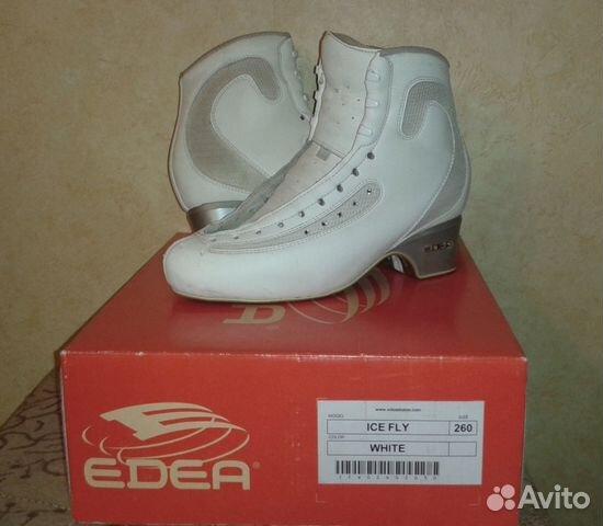 3dc9a870 Фигурные ботинки Edea ICE FLY белые, размер 260   Festima.Ru ...