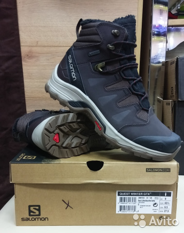 4678622fa9d Ботинки зимние Salomon quest winter GTX. оригинал