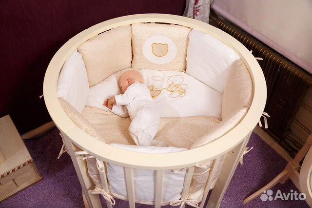 3c2e170dcffb Круглые кроватки от производителя купить в Иркутской области на ...