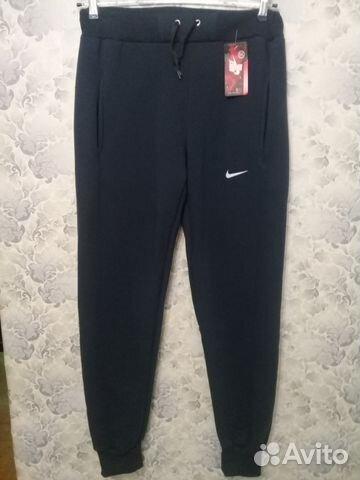 541b23c8 Спортивные брюки Найк трико зимние синесерые | Festima.Ru ...