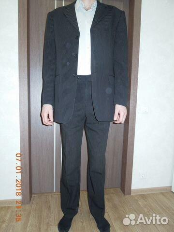 6eb320e8376ff1c Костюм мужской 48-50 купить в Самарской области на Avito ...