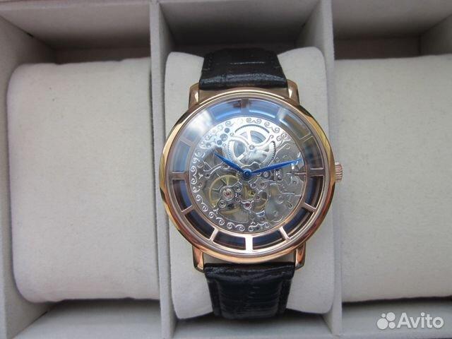 89525003388 Мужские наручные часы Patek Philippe Skeleton