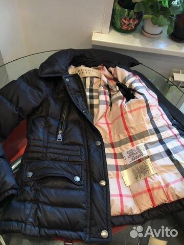 Куртка- пуховик Burberry купить в Москве на Avito — Объявления на ... 4e638849fbf