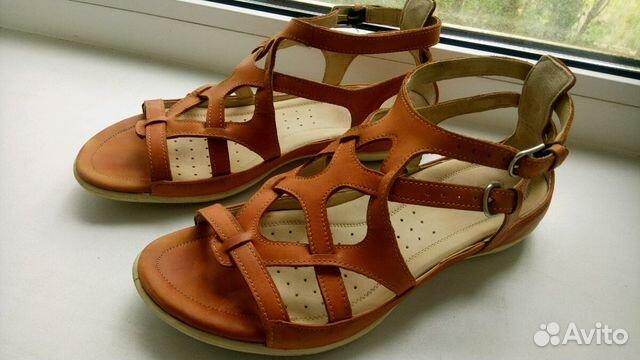 Летние сандалии экко Ecco и ботинки-сникерсы р-р39— фотография №1 33b09f2d2e885