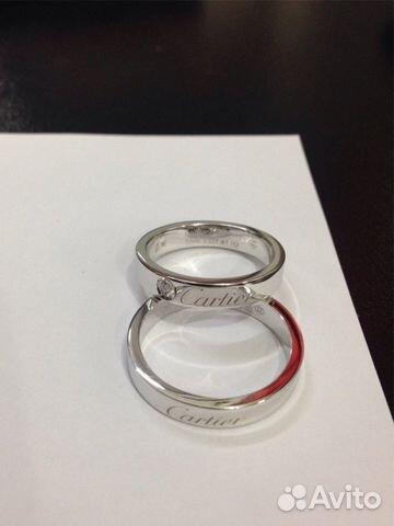 1e19c1cd2daa Золотые обручальные кольца Cartier Logo купить в Москве на Avito ...