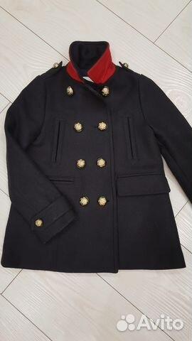 a83aa7d6148 Пальто бушлат Burberry для девочек купить в Санкт-Петербурге на ...