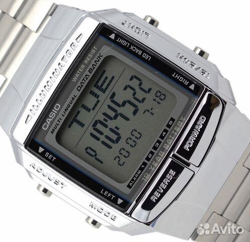 87e47cee Мужские наручные часы Casio Data Bank DB-360N-1 купить в ...