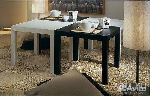 журнальный столик икеа лакк 3 цвета для дома и дачи мебель и