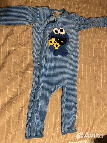 67922f15c8aee Тёплый слип пижама HM H&M 92 см | Festima.Ru - Мониторинг объявлений