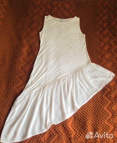 27a292a3024 Туника   платье   майка с оборкой купить в Москве на Avito ...