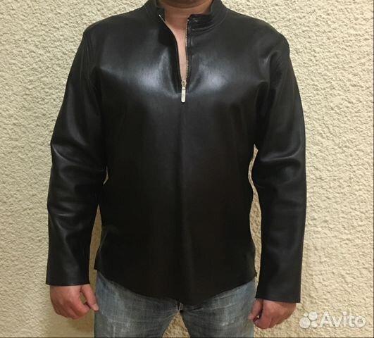76da23b102c Мужская кожаная рубашка - Личные вещи